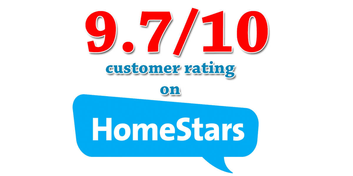 homestars rating banner