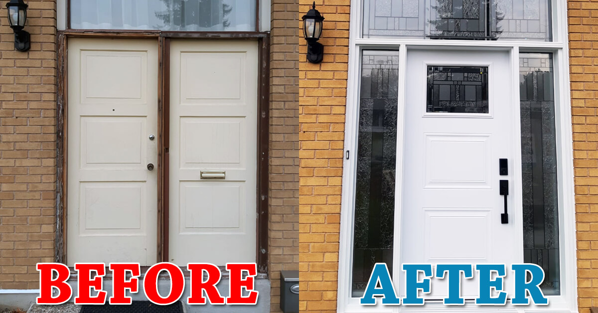 Give your entry door an upgrade this summer!